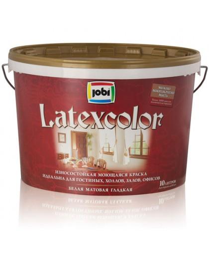 JOBI Краска латексная износостойкая моющаяся - матовая