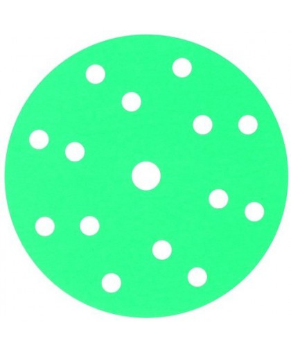 CARSYSTEM Абразивный круг GREENLINE GRIP 150 mm 15 отв P120
