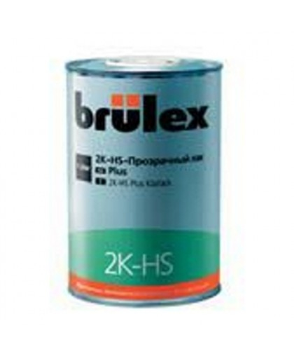 BRULEX 2K-HS-Прозрачный лак Plus, 1л