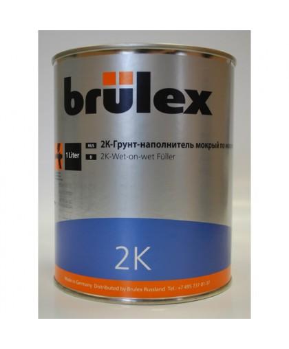 BRULEX 2K-Грунт-наполнитель wet-on-wet NEW, 1л