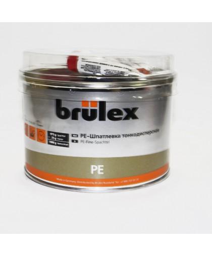 BRULEX PE-Шпатлевка тонкодисперсная с отвердителем, 1кг