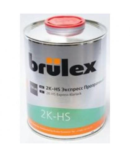 BRULEX 2K-HS-Прозрачный лак Экспресс, 0,75л