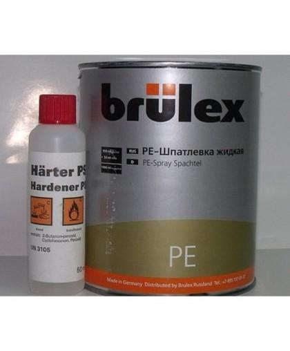BRULEX PE-Шпатлевка жидкая с отвердителем, 1кг