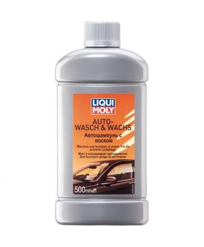 Автошампунь с воском Auto-Wasch & Wachs 0,5л