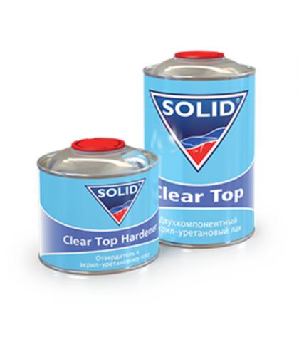 SOLID CLEARTOP (1000 мл + 500 мл) - 2К акрил-уретановый лак 2+1 системы MS (в комп. с отвердит.)