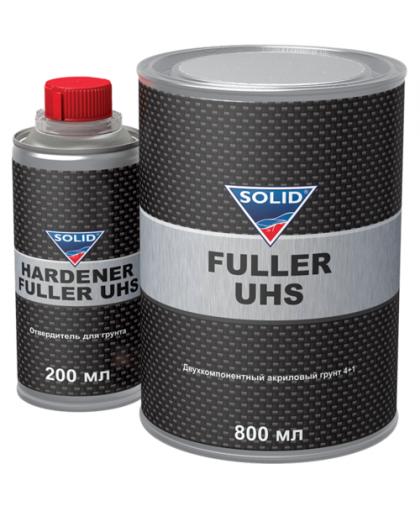 SOLID PROFESSIONAL LINE FULLER UHS (800 + 200 мл) - акриловый грунт, (в комп. с отв.)
