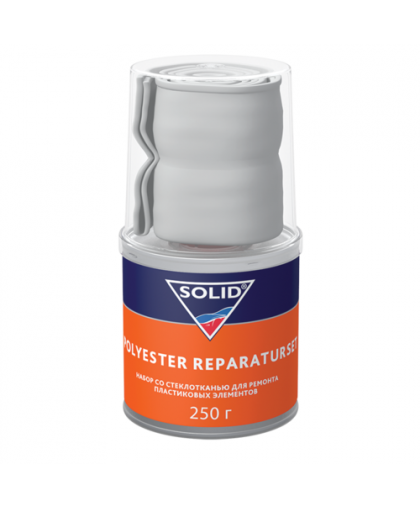 SOLID POLYESTER REPARATURSET - (250 гр) набор для ремонта пластика