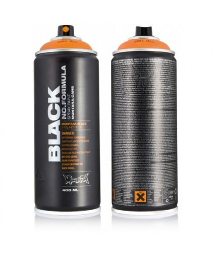 1005BLK MONTANA BLACK 400ML Краска BLACK светло-желтая