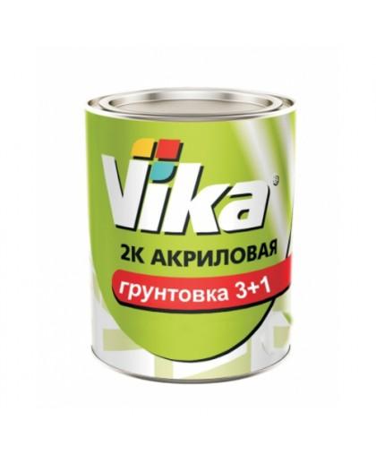VIKA Вика Грунт 2К акриловый 3+1 HS белый 0,6 кг
