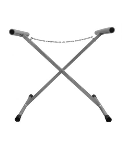 RoxelPro Стойка для окрашивания кузовных деталей, Х-образная, особопрочная, 600х800х1100мм