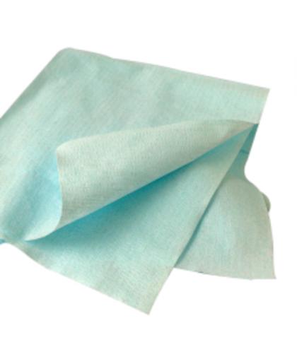 RoxelPro Обезжиривающая салфетка ULTRACLEAN ONE, листы (коробка 10х50шт), 30х38см., голубая