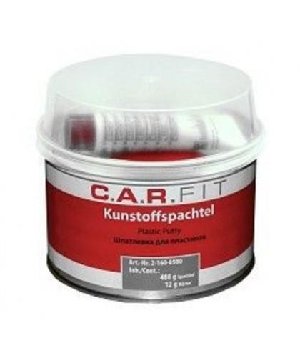 CARFIT Шпатлевка для пластиков, 0,5 кг.(включая отвердитель + шпатель)