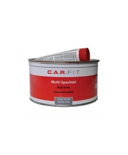 CARFIT 2К Шпатлевка полиэфирная для оцинк. и алюм. поверхностей Multi 1,8 кг, вкл.отв.
