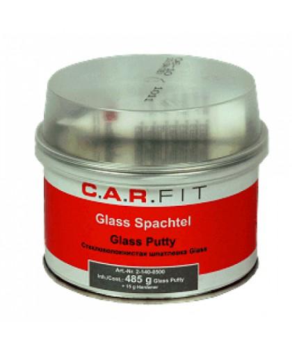CARFIT 2K Шпатлевка полиэфирная стекловолокнистая Glas 0,5 кг, вкл.отв.