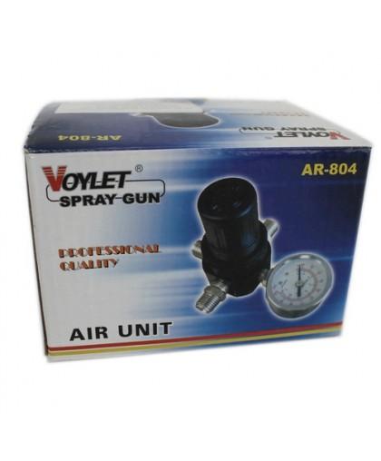AR804 Voylet Регулятор давления с манометром