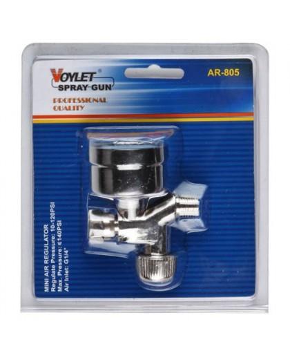 AR805 Voylet Регулятор давления с манометром