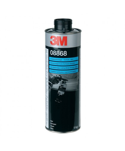 3М Антигравийное покрытие Чёрное окрашиваемое, 1 л