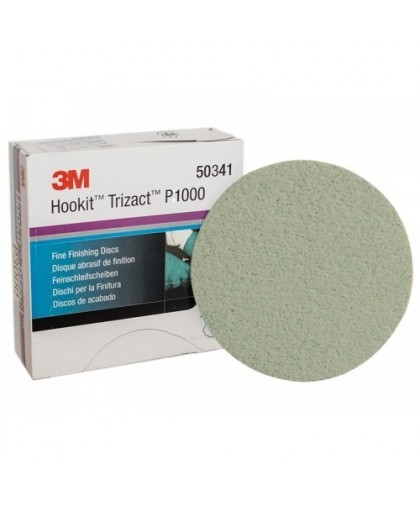 3М Матирующий круг Trizact Р1000, Диам. 150 мм, 15 круг Trizactов/коробка (упаковка 15 шт.)