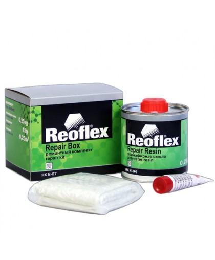 Рем.комплект REOFLEX (смола 0,25кг+стекломат 150 гр/1м.кв.+отвердитель) (шт.)